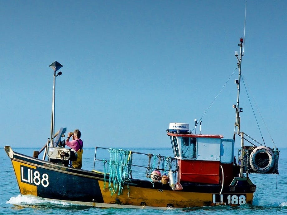 Modern Fishing Navigation Equipment, courtesy of CoastalJJ
