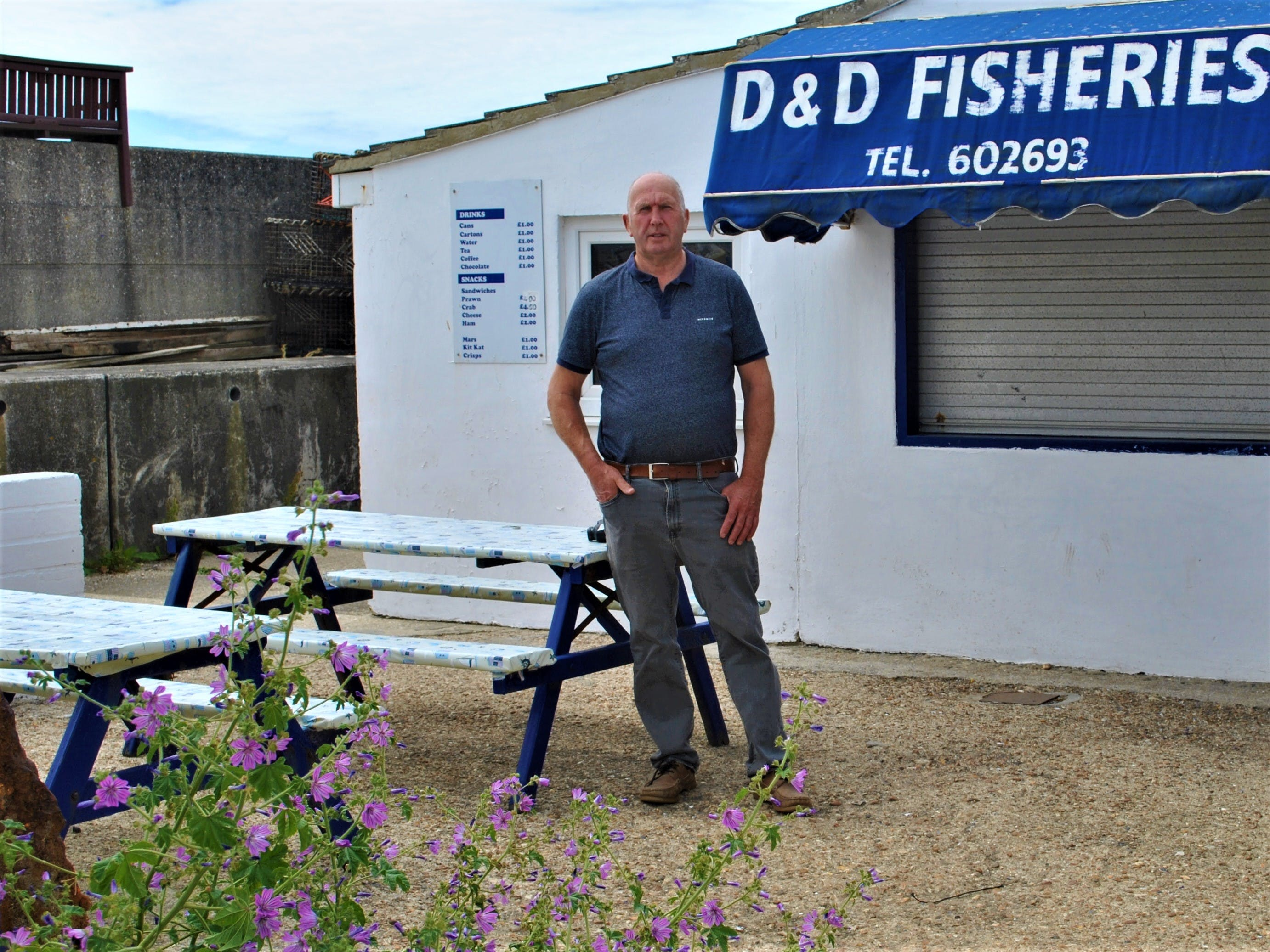 Denny Arnell, fisherman and owner of D&D Fisheries