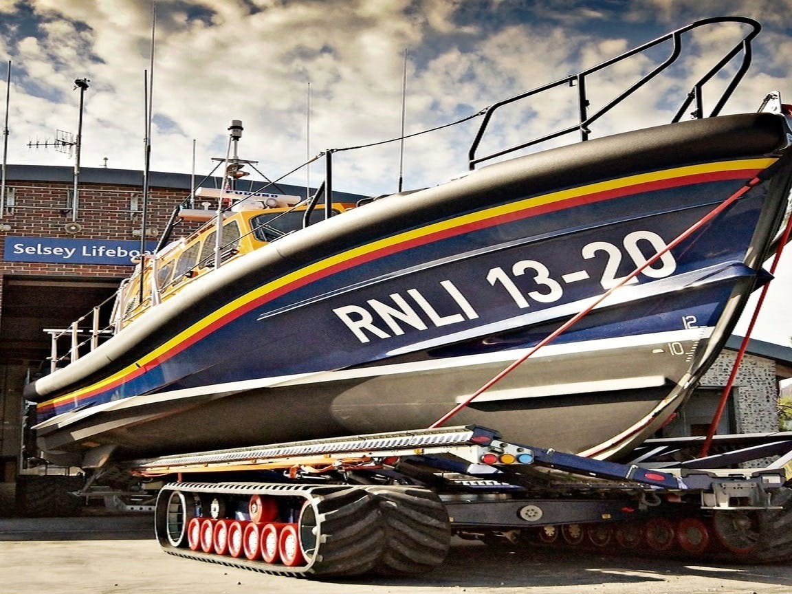 RNLI Selsey Shannon Class Lifeboat, courtesy CoastalJJ