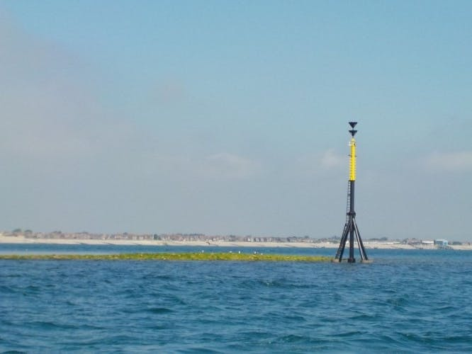 Mixon Hole Cardinal Marker, courtesy of Mulberry Divers