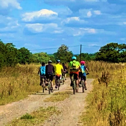 Cycling in the Nature Reserves