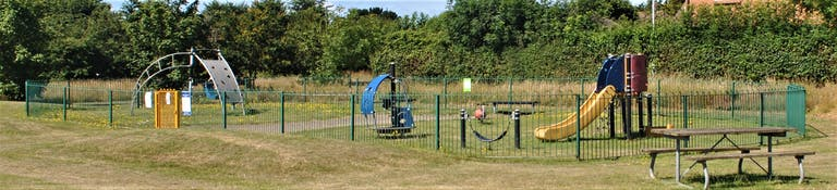 Play equipment at Manor Green Park, Selsey