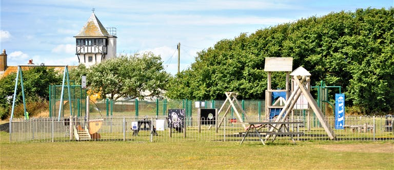 Play equipment at Oval Field, Selsey