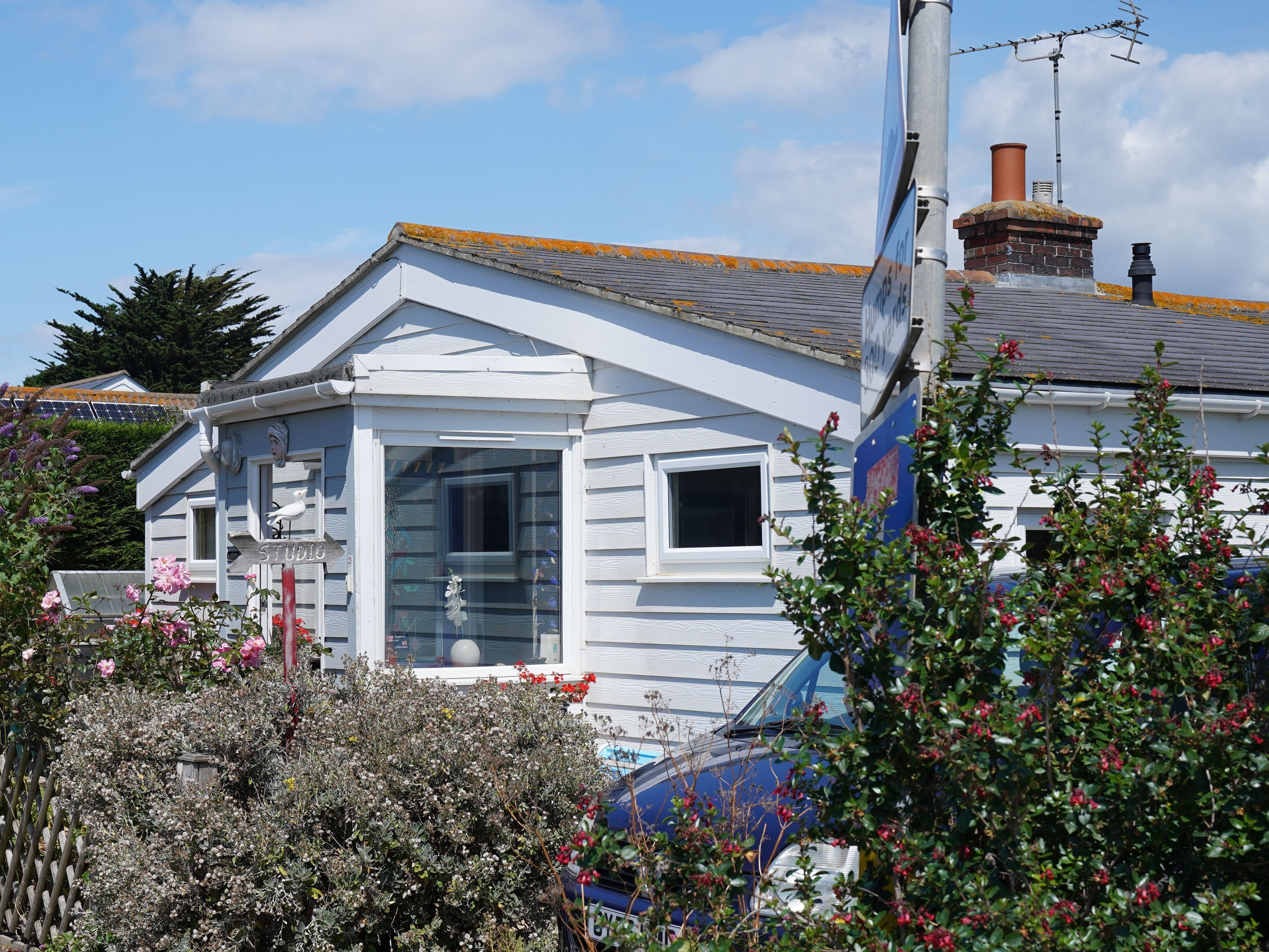 Stewartson Railway Carriage Cottage where Prime minister Churchill held his Mulberry Harbour meeting