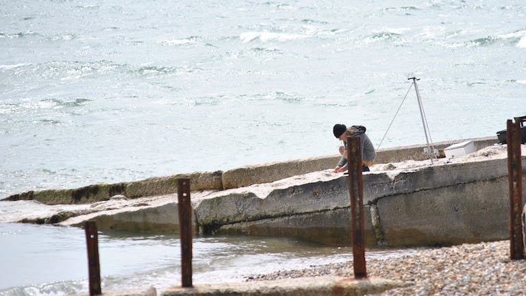 Fishing at Selsey Bill