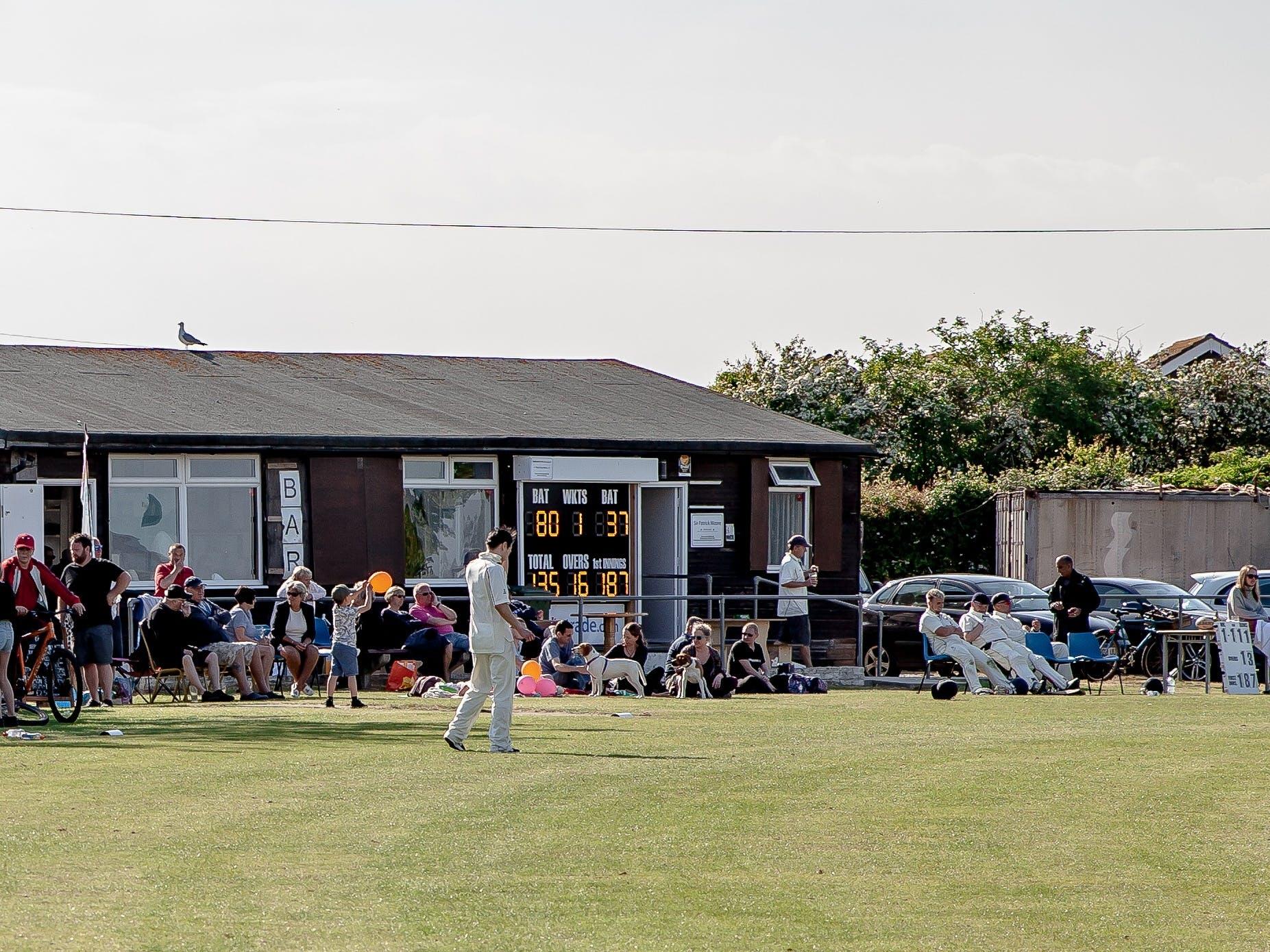 The Cricket Pavillion on the Recreation Ground