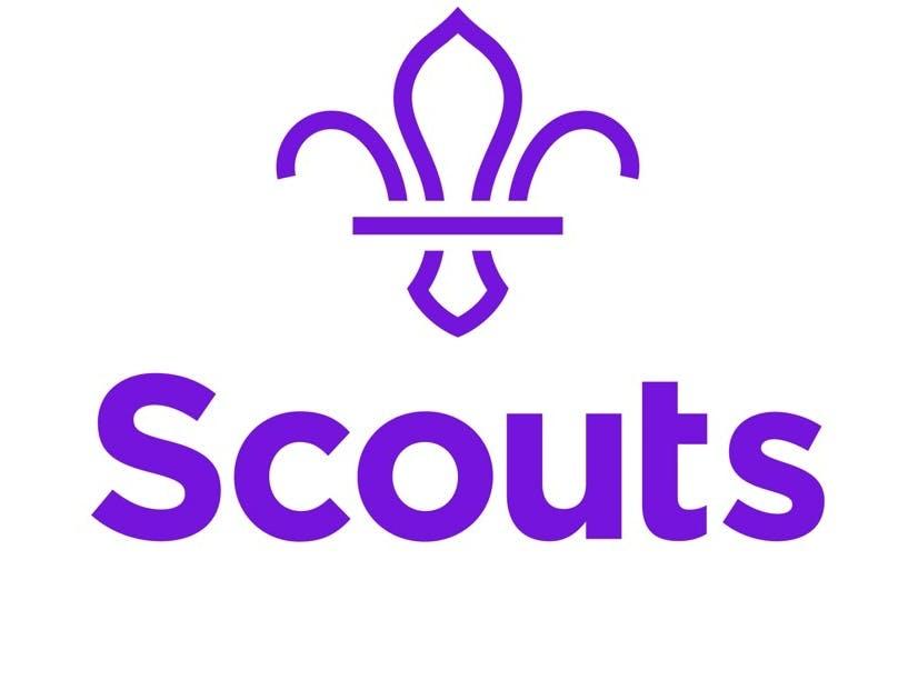 Scouts logo in purple