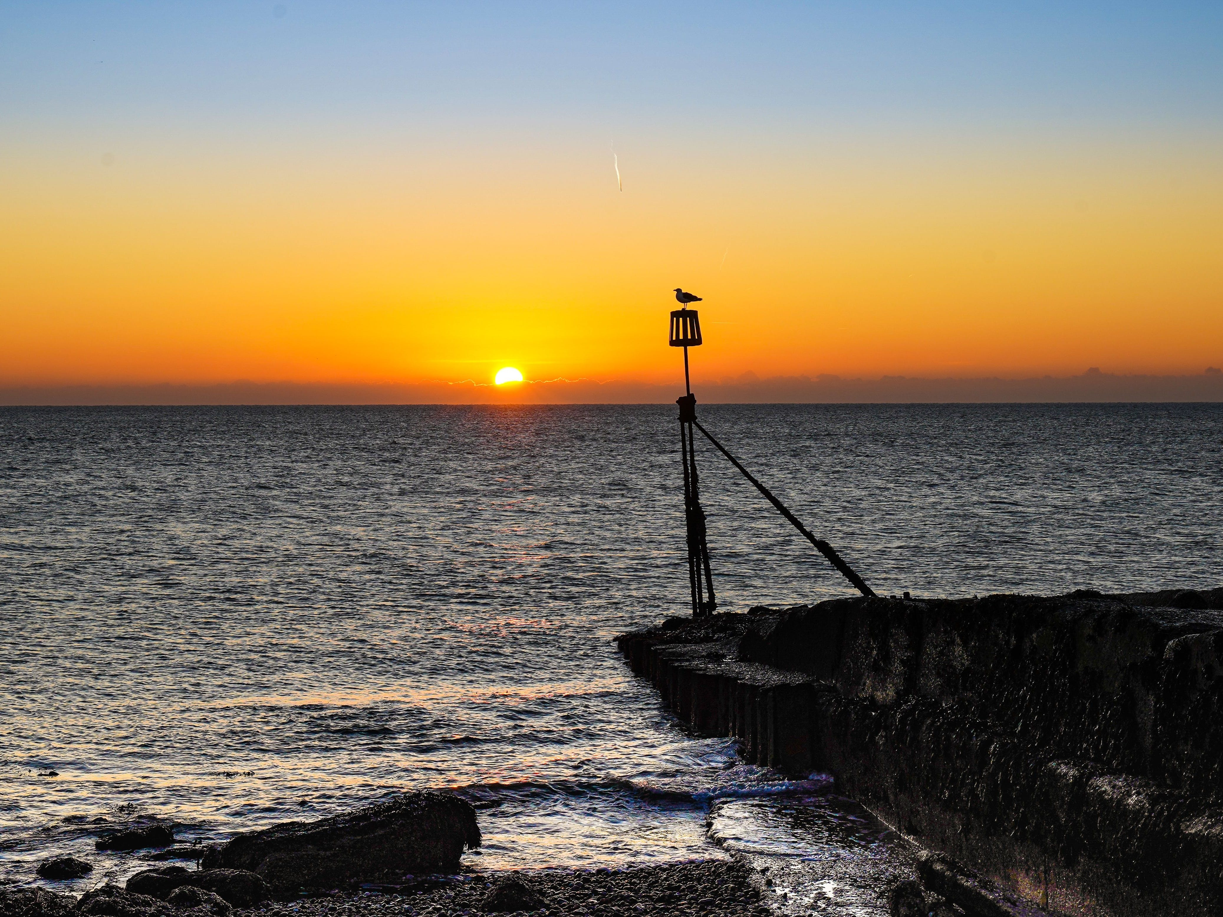 Image of Selsey Bill at sunrise