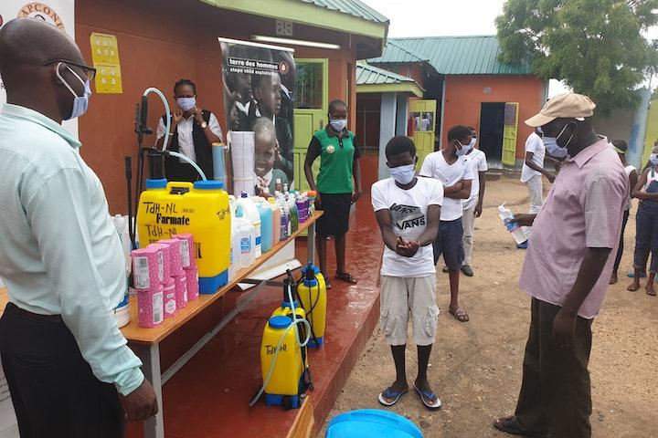 Terre des Hommes Netherlands provides COVID-19 prevention essentials for Turkana shelter