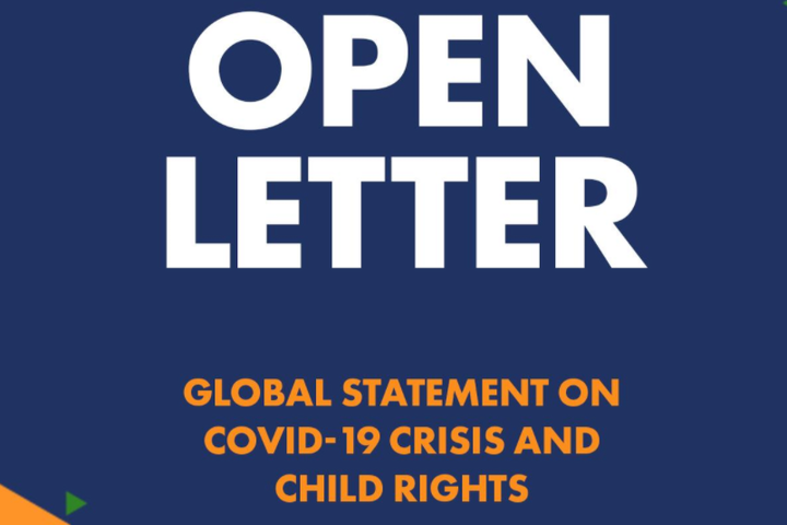 OPEN LETTER: LEADERS MUST PROTECT CHILDREN DURING COVID-19