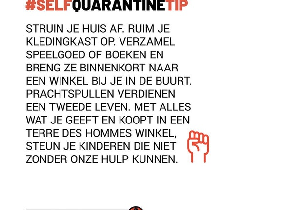 Tips om de zelfquarantaine door te komen