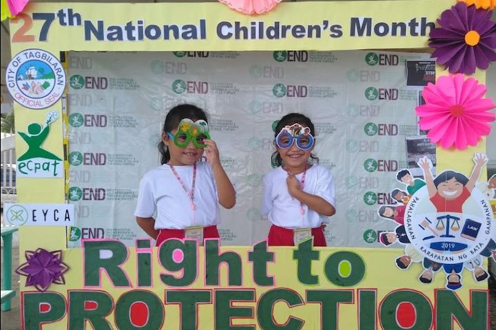 November: Kindermaand in de Filipijnen