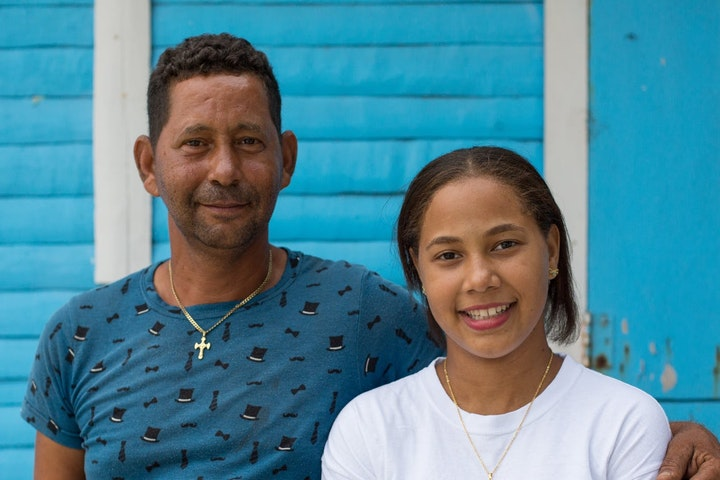 Het vader-dochterduo dat samen strijdt tegen seksuele uitbuiting