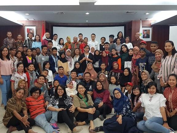 Kinderen in Indonesië vragen aandacht voor kinderrechten
