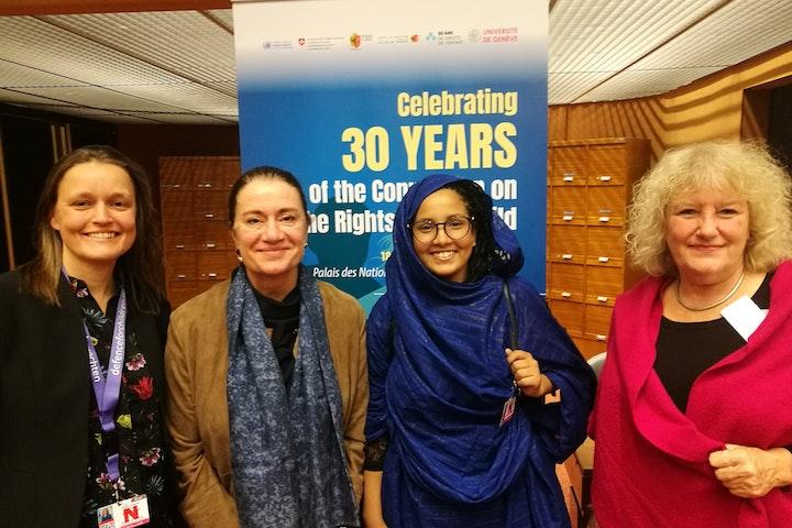 VN-vertegenwoordigers en Nederland committeren zich aan ondersteuning en bescherming meisjes als mensenrechtenverdedigers