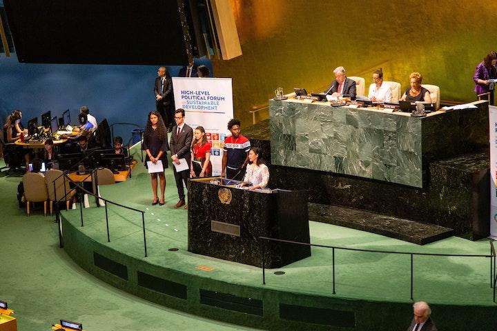 Lobbyen voor meisjesrechten op het hoogste niveau