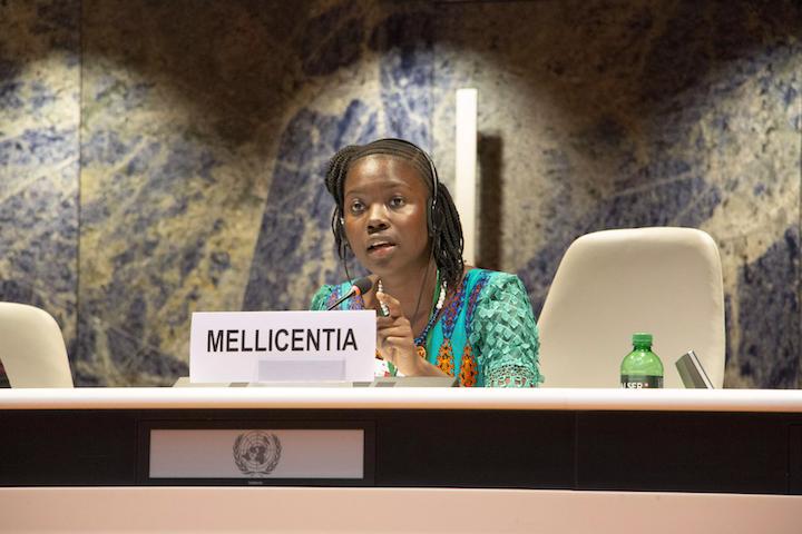 Maurice, Hibatu en Ayesha pleiten bij de Verenigde Naties voor meisjesrechten