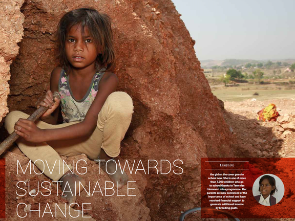 Annual report 2018: Moving towards sustainable change