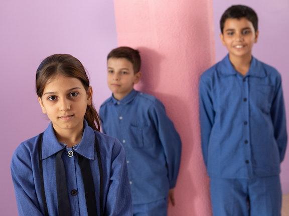 Anas (10) uit Syrië gaat sinds drie maanden naar school