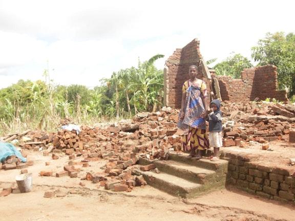 Veel huizen in Mozambique zijn verwoest door cycloon Idai