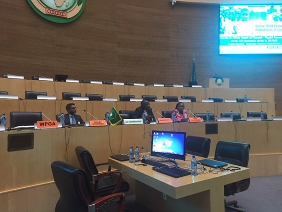 Evidence on Online Child Sexual Exploitation in Kenya presented to the African Union