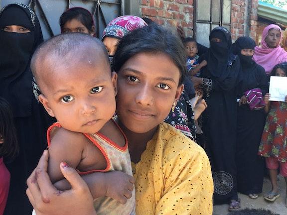 VN deelt zorg over het lot van Rohingya vluchtkinderen