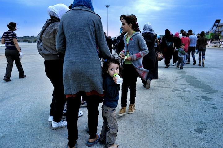 Schrijnende omstandigheden voor vluchtkinderen op de Griekse eilanden