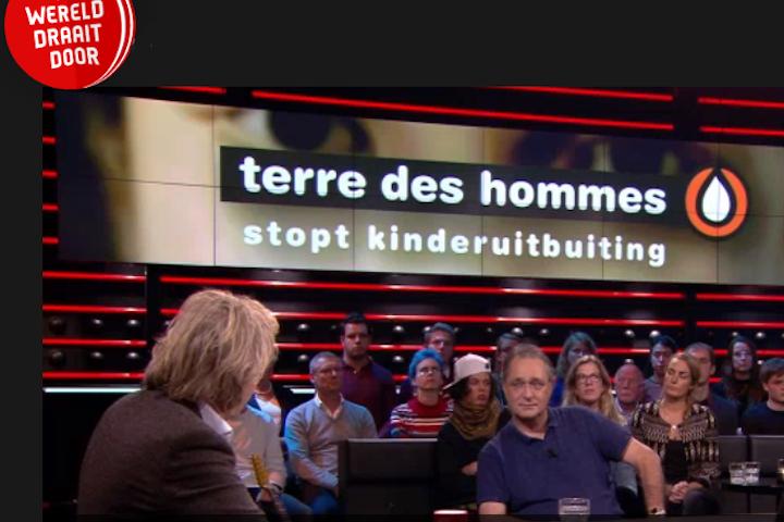 Terre des Hommes in DWDD over het online opsporen van kindermisbruikers
