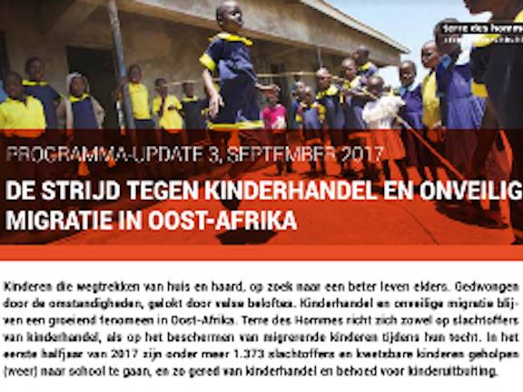 Programma update: Kinderhandel in Afrika 2017 Terre des Hommes
