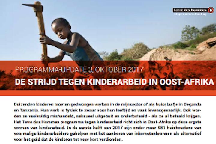 Programma update: Kinderarbeid in Afrika 2017 Terre des Hommes