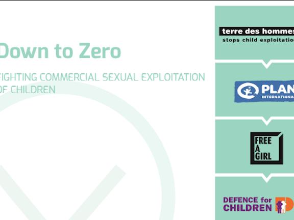 Down to Zero Folder Terre des Hommes