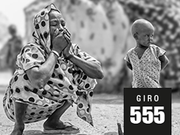 Giro555 start actie Help Slachtoffers Hongersnood Terre des Hommes noodhulp Zuid-Soedan