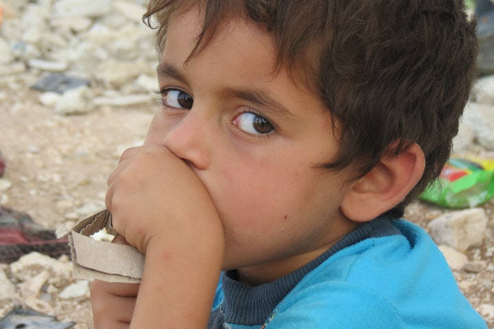 Herinnering: meer dan de helft van de vluchtelingen is kind Noodhulp voor kinderen Terre des Hommes