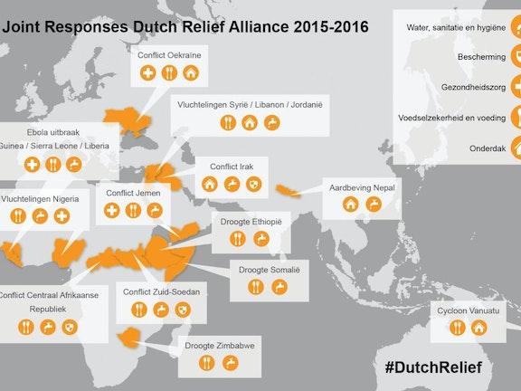 Dutch Relief Alliance blijft ook in 2017 noodhulp bieden Terre des Hommes noodhulp