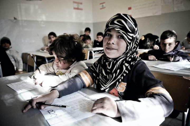 45.000 Syrische kinderen naar school Terre des Hommes Libanon