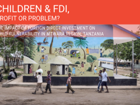 Baseline research report: The impact of Foreign Direct Investment on Child Vulnerability in Mtwara region, Tanzania
