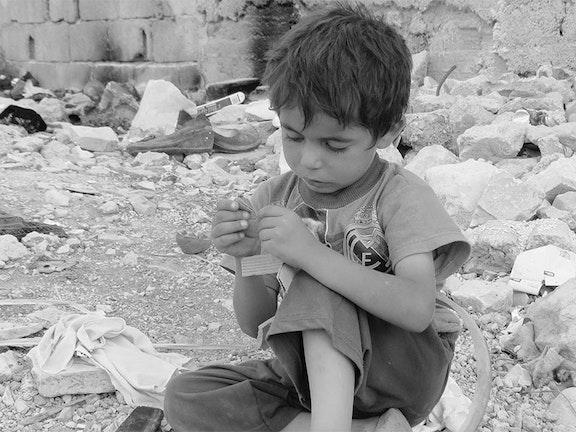 Terre des Hommes brengt voedselpakketten naar Aleppo