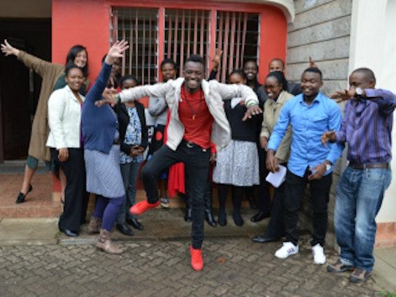 Nelmo Newsong ambassador Terre des Hommes Netherlands in East Africa