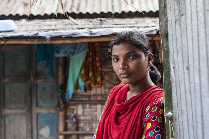 Campagne tegen kindbruiden in Bangladesh Terre des Hommes