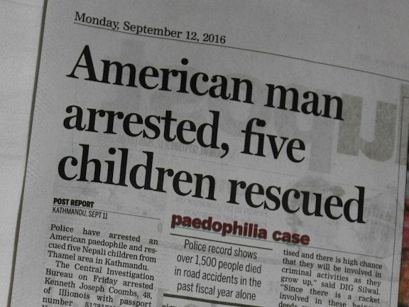 Kindermisbruiker uit VS gearresteerd op aangeven van WATCH Nepal Terre des Hommes
