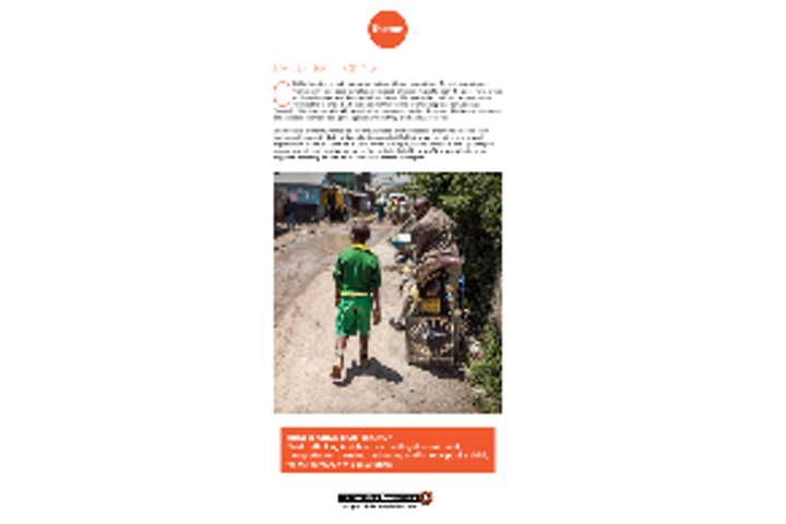 Factsheet about Terre des Hommes Netherlands' programme addressing Child Trafficking and Unsafe Migration in East Africa.
