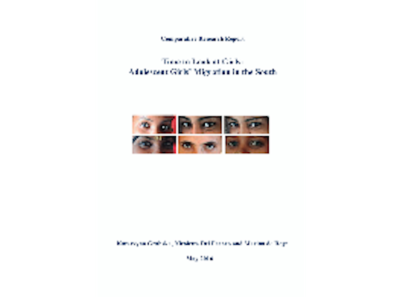 Time to Look at Girls: Adolescent Girls' Migration in the South comparative research report