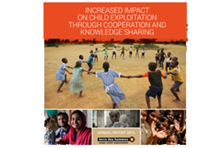 Annual Report 2015 Terre des Hommes