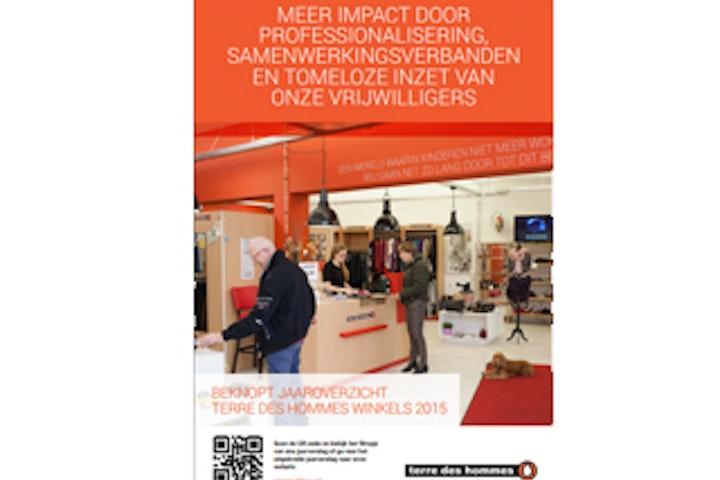 Jaarverslag 2015 Terre des Hommes winkels