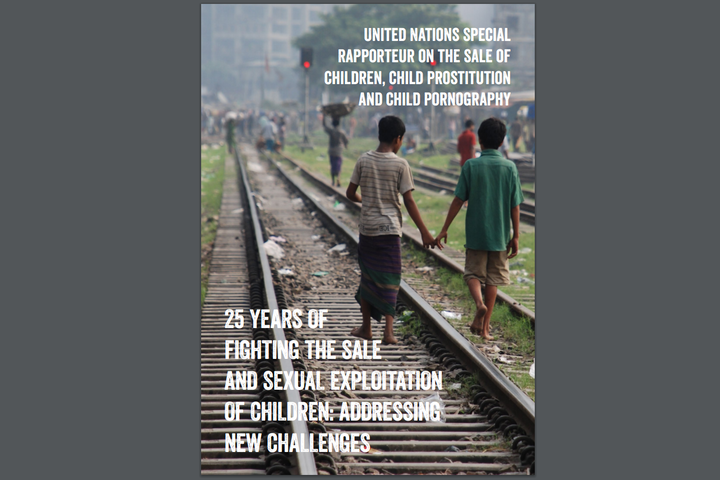 United Nations Special Rapporteur on the sale of children, child prostitution and child pornography