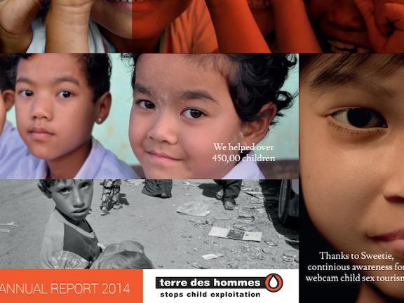 Annual Report 2014 Terre des Hommes