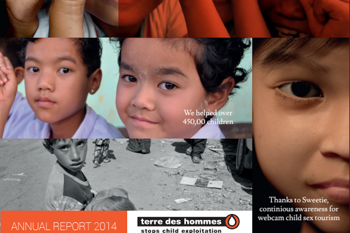 Annual Report 2014 Terre des Hommes