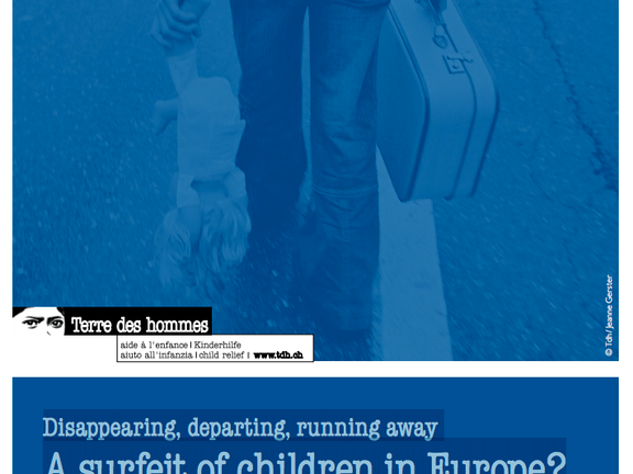 Disappearing, departing, running away  - A surfeit of children in Europe?