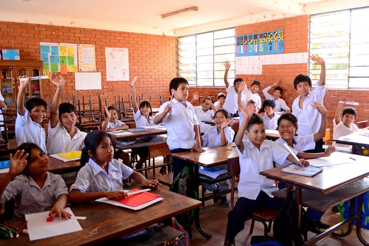 2.700 huisslaafjes weer naar school Terre des Hommes kindrarbeid