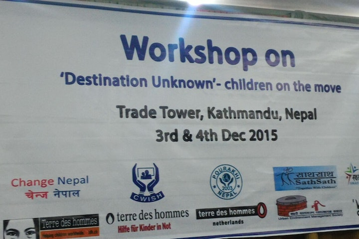 In a bid to protect children from all kinds of abuse and violence, the 'Destination Unknown' campaign was launched in Nepal on the fourth of December. Destination Unknown is an international campaign to protect children on the move, which is led by Terre des Hommes.